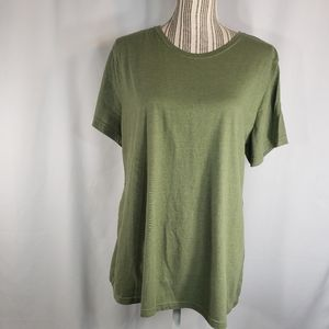 Time and Tru NWOT Olive Tee Top Size XXLarge